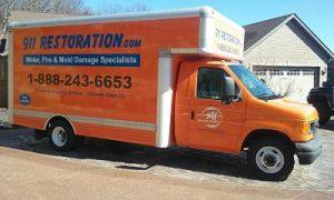 Disaster Restoration Van