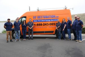 911-restoration-water-damage-mold-remediation-fire-damage-person-van-group-pic